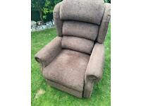 OAK TREE MOBILITY CHAIR AS NEW cost £1895