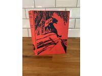 Book clock: handmade collectible Kipling's 'Animal Stories' 1932 Macmillan feat black clock