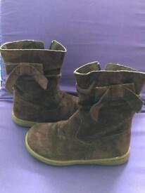 Girl's Boots, M&S, size 10