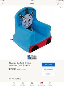 Inflatable Thomas the tank chair