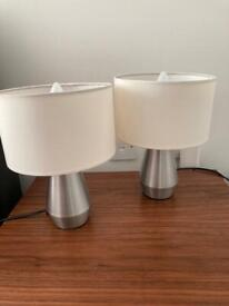 Twin Touch lamps for sale