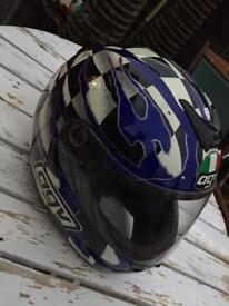 AGV mad dog motorcycle race helmet