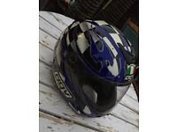 AGV mad dog motorcycle race helmet