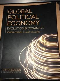 Global Political Economy 5th Edition by Robert O'Brien & Marc Williams