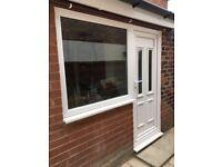 UPVC window +door