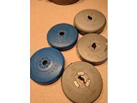 5 disc weights