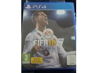 Fifa 18 new for ps4