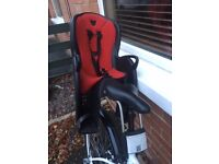 Hamax Kiss Rear Child Bike Seat - Mint Condition - Only used a few times - NEW REDUCED PRICE!!