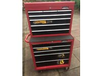 Tool box plus full set of tools for motor industry