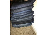 13 pairs of hardly worn jeans