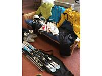 Skiing Equipment New & Used Once