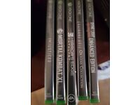 5 Xbox one games selling as job lot (still in wrapping unused)