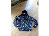 Men's Ski Jacket, size small, black, grey and white in colour, never worn. £20.00
