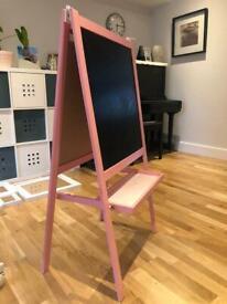 IKEA easel pink