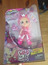 Shopkins doll wild