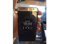 Samsung Galaxy S7 Edge 32GB, Gold. Very Good condition