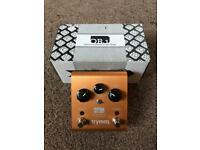 Strymon OB1 Comp, Custom Audio Wah MC404, EHX Big Muff Tone Wicker