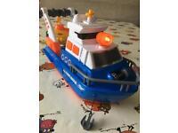 Zimba-Dickie explorer boat