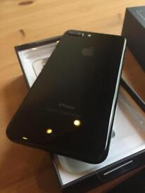 Apple IPhone 7 Plus 128GB Gloss black 1 month old like new unlocked