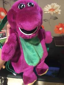 Barney bag rare collectable