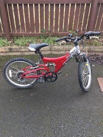Giant mtx150 mountain bike full suspension children's bike