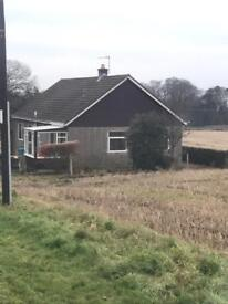 Country 3 bedroom bungalow available now!
