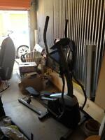 Elliptical exercice equipment