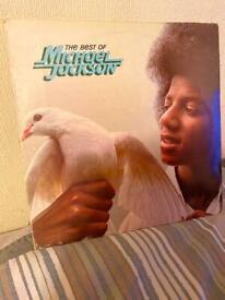 Michael Jackson - the best of vinyl album