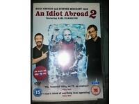 An idiot abroad series 2. 2 discs.