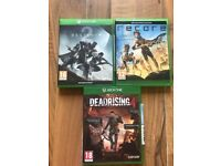 Xbox one games , as new , £15 each ! Price stands , no offers !