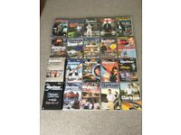 18 BBC Top Gear Jermemy Clarkson DVD's. Most new and sealed.James May/Richard Hammond