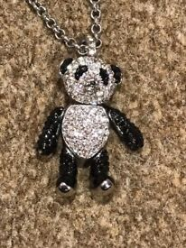 BUTLER AND WILSON PANDA NECKLACE