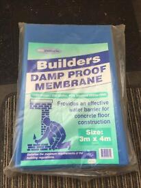 Damp proof membrane x2 £15 each