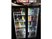 Coke fridge