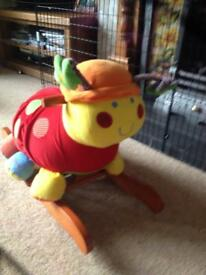 Mamas & Papas Rock & Ride Lotty Ladybird (rocker/rocking chair, excellent condition)
