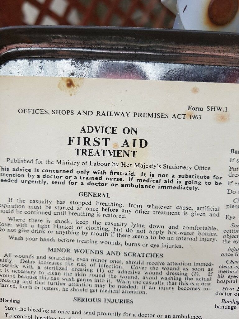 old first aid kit in culverhouse cross cardiff gumtree