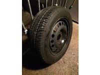 195/60R15 GREAT PART WORN TYRE - 5x110 fitment