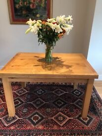 Contemporary Solid Oak Dining Table