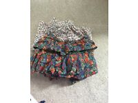 2x Girls age 9 Next skirts