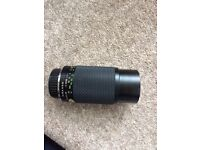 Pentax k mount 80-200mm with case