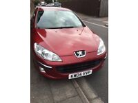 Peugeot 407 Manual 6 Speed. MOT March 2018. Car in very good condition