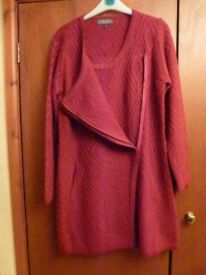 Per Una long jacket - worn once; beautiful condition; very warm.