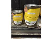 Treatex hardwax oil clear satin for interior floor varnish wooden surfaces 2.5l + 1l