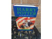 Harry Potter and the Half-Blood Prince 1st Edition hardback book