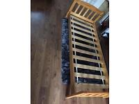 Beautiful condition Mothercare wooden toddler bed