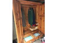 Pineatum Solid Pine Bedroom Furniture Set (5 Items)