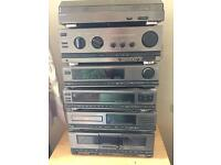 Sony stack HiFi system LBT-D705 excellent quality