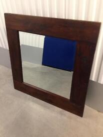 Lombok Solid Teak wall mirror - furniture Laura Ashley habitat loaf oka John Lewis raft varde