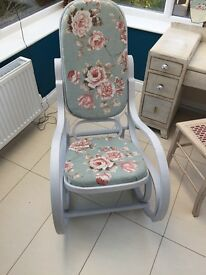 Hand Painted rocking chair