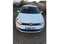 Volkswagen Golf 1.6 TDi 5 Door Hatchback Diesel White (41,000 miles)